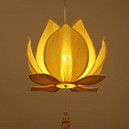 Mmhot-dd Kronleuchter Tuch Kronleuchter Lotus Balkon Restaurant Treppen Lichter (Farbe : Diameter40cm) -