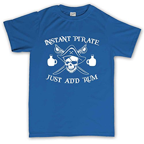 Instant Pirate Of Caribbean Funny T-shirt Kšnigsblau