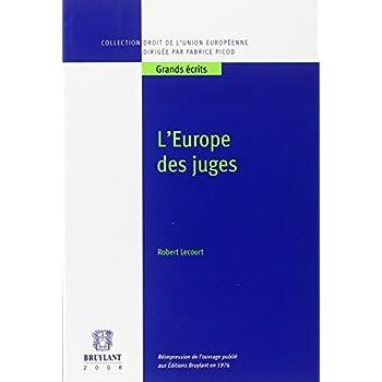 L'Europe des juges