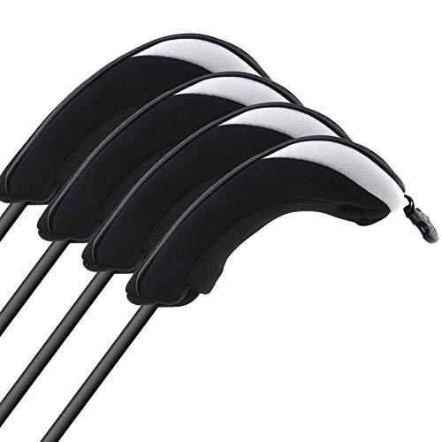 4-tlg. Hybrid-Abdeckung Schlägerhaube Schlägerkopfhüllen Mesh Golf Headcovers Kopfschutz Putterkopf Hüllen (Ping 4 Hybrid)