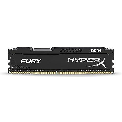 HyperX FURY HX421C14FB/4 - 4Go 2133MHz DDR4 Non-ECC CL14 DIMM (Compatible avec Skylake)