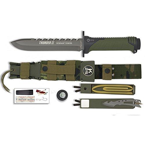 K25 32134 Cuchillos Tácticos de Caza, Unisex Adulto,, Talla Única
