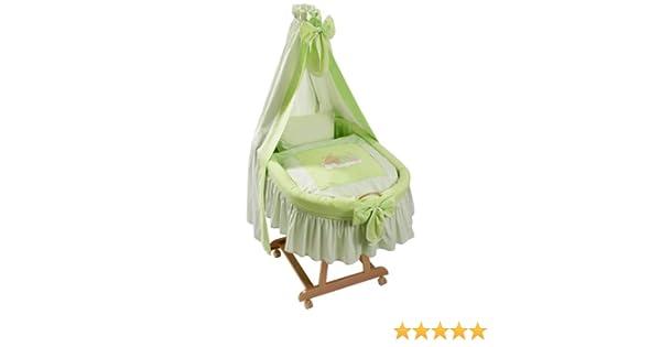 Easy baby 485 84 stubenwagenset sleeping bear grün: amazon.de: baby