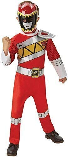 Deluxe Kinder Jungen Mädchen Rot Power Ranger Superheld -