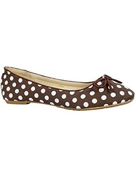 Donne motivo floreale su scarpe Comfort Ballerine piatte