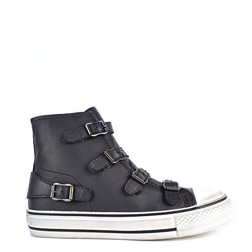 Ash Schuhe (ASH Damen Natives High Top-Trainer UK 6 Grau)