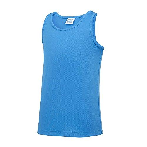 AWDis Just Cool Kinder Tank Top (12-13 Jahre) (Sapphire Blau)