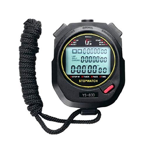 LAOSI - Temporizador correr tres filas 100 cronómetros