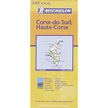 Carte routière : Corse du Sud - Haute-Corse, N° 11345