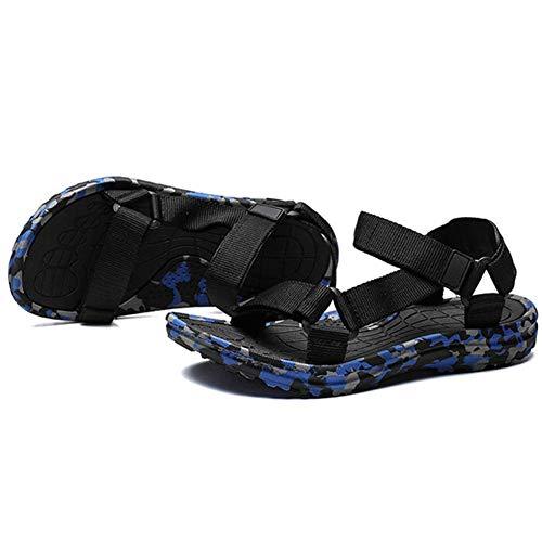 Rockport Leichte Sandalen (Männer Gladiator Sandalen flip Flops offene Toe Hook Loop plattform Strandschuhe im Sommer Anti geschoben leichte Pool Schuhe)