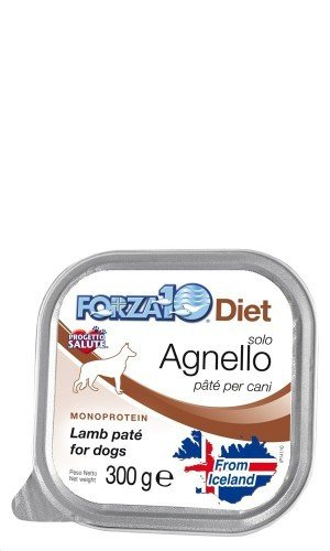 Forza 10 Cane, Solo Dieta Agnello AP 300 gr