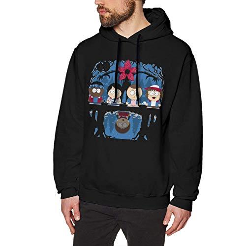 WSND Stranger Park Mens Long Sleeve Sweatshirts Mans Hoodies Black Star Zip Youth Sweatshirt
