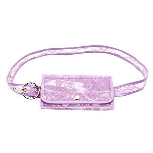 HCFKJ Tasche, Frauen-Farben-Taschen-Mehrzweck-Geldbeutel-Gürteltasche-Einkaufsführer-Paket (PP)