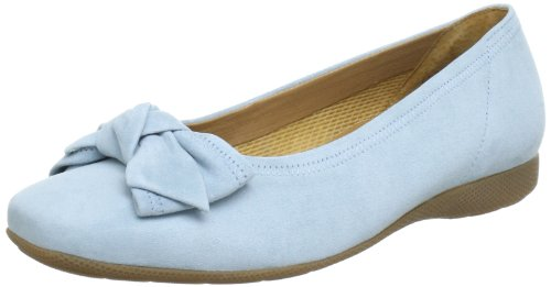 Gabor Shoes Gabor Comfort 6265235, Ballerine donna Blu (Blau (sky))