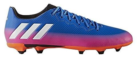 adidas Men's Messi 16.3 FG Football Boots, Blue (Blue/Ftwr White/Solar Orange), 7.5 UK 41 1/3 EU