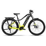 Haibike SDURO Trekking 9.0 Damen E-Bike 500Wh E-Trekkingrad titan/lime/schwarz / RH 48 cm / 28 Zoll