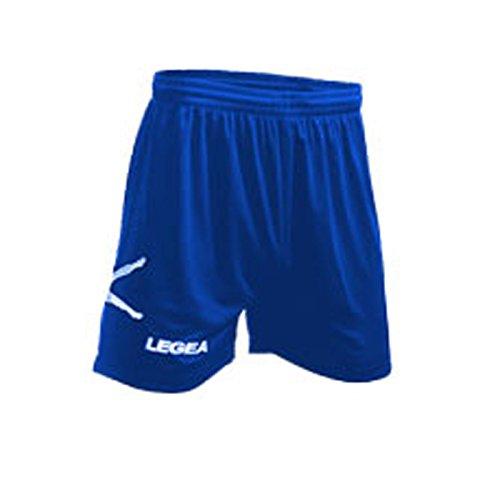 LEGEA Pantaloncino Taipei Calcio Calcetto Allenamento Corsa BASJET Volley UGBY TRIANING Running Jogging (L, Granata)