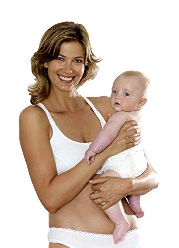 Emma jane still bH soutien-gorge de sport sans coutures, sans armatures de soutien-gorge bra de maternité nursing femme r/t Blanc - blanc