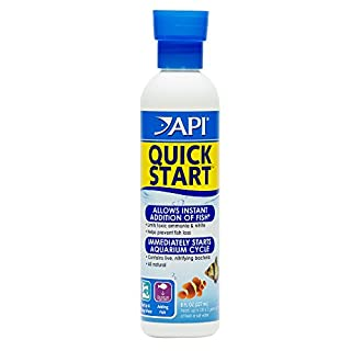 API QUICK START Freshwater and Saltwater Aquarium Nitrifying Bacteria 237 ml Bottle