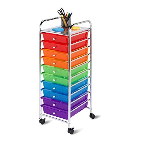 honey-can-do-crt-02214-organisateur-roulant-de-bureau-avec-10-tiroirs-multicolore-33-x-39-x-95-cm