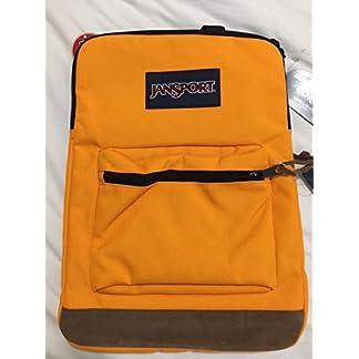 JanSport derecho Pack–Naranja Oro mochila para ordenador portátil de 15«