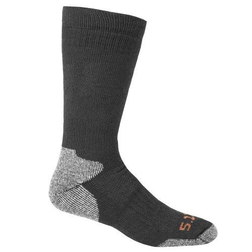 5.11 Herren kaltem Wetter über der Wade Socke Small schwarz