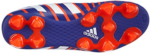 adidas Predito Instinct Firm Ground, Chaussures de Football Homme Rouge (solar Red/ftwr White/night Flash S15)