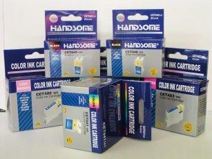 10er Set Tinten Patronen kompatibel für Epson C64 C66 C84 C86 CX3650 CX6400 -
