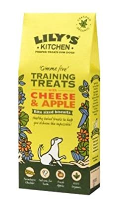 Lily's Kitchen Cheese and Apple Training Treats for Dogs 100g
