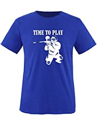 TIME TO PLAY - PAINTBALL - Herren Unisex T-Shirt