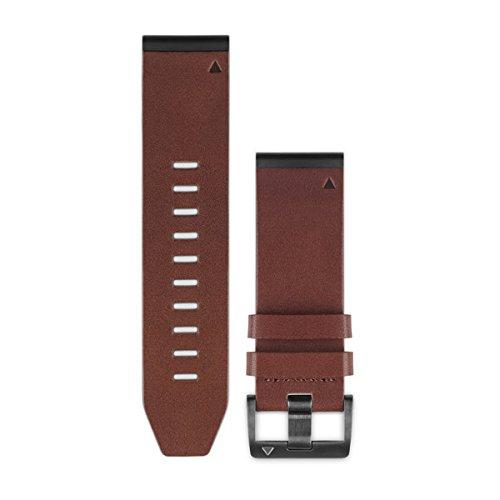 QuickFit Lederarmband 26mm, kompatibel mit fenix 3, fenix 5X, fenix 5X Plus, quatix 3, tactix
