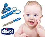 Best Infant Nail Clippers - Chicco MANICURE SET Baby Nail Cutter Trimmer 3pc Review