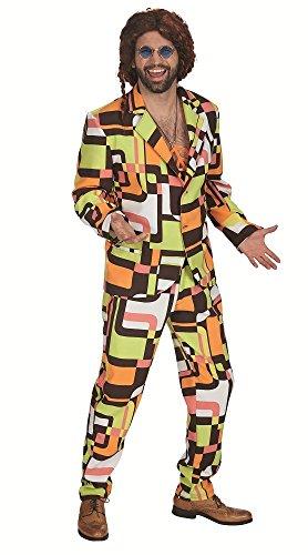 Retro Anzug Andy für Herren Gr. 54 56