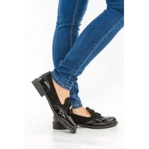 Princesse boutique - Mocassins noir Noir