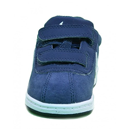 Nike - Nike Brutez Plus (TD) Scarpe Sportive Bambino Pelle Blu Strappi 535450 Bleu