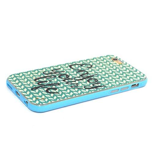 """MOONCASE iPhone 6S Plus Coque, Glitter Sparkle Bling Étui Coque pour iPhone 6 Plus / 6S Plus 5.5"""" Soft Coloré Motif TPU Gel Souple Case Housse de Protection Panda Enjoy your life"""