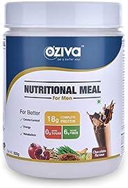 OZiva Nutritional Meal Men (Chocolate 500g)