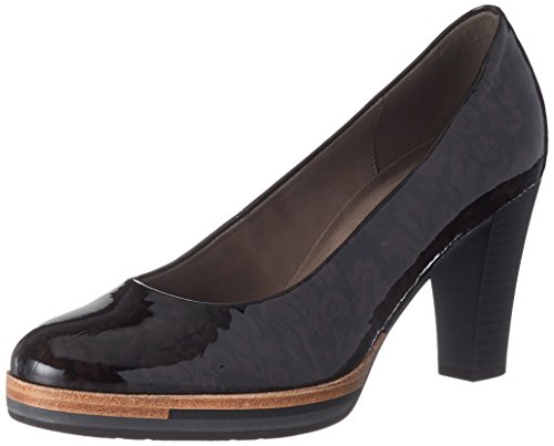 Gabor Damen Fashion Pumps Grau (anthrazit)