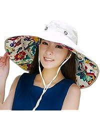 Sombrero de Sol Extraíble Con Borde Grande Para Gorra Sombrero de Cubo  Solar Reversible de Playa 558d7028a8b