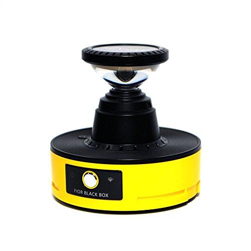 Fior 360Grad omnidirektional Full HD 2m Pixel Smart Motorräder Fahrräder Dash Cam für Helme-Bike Kamera schützt und verteidigt Sie, wenn Canon Prima Mini