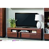 Alkove Malvern Solid Wood TV Stand, 160 x 51 x 42cm, Antic Oak Effect