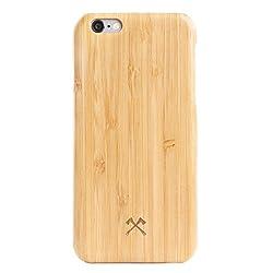 Woodcessories - Hülle kompatibel mit iPhone 6 / 6s aus Echtholz - EcoSlim Case (Bambus)