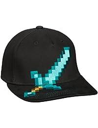 Official Minecraft - Diamond Sword - Stretchfit Baseball Cap Hat