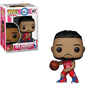 Funko Pop Ben Simmons Philadelphia 76ers camiseta roja (NBA 47) Funko Pop NBA