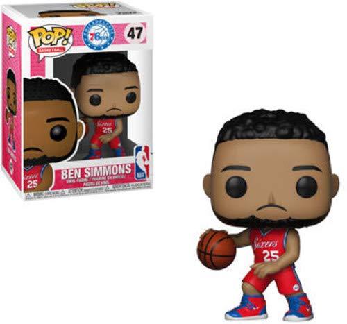 Funko Pop Ben Simmons Philadelphia 76ers camiseta roja (NBA 47) Funko Pop NBA