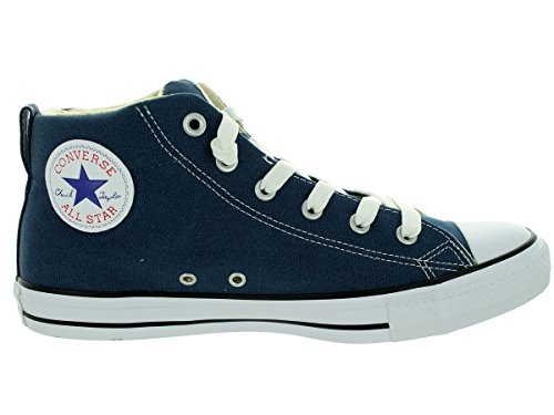 Converse Womens Chuck Taylor Street Mid Textile Trainers Marine De Guerre