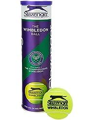 Slazenger Wimbledon Official Tennis Balls- 3 Tubes 12 Balls Special Offer - by Slazenger