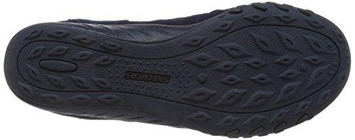 Skechers Active Breathe - Easy Big Bucks, Low-Top Sneakers femme Bleu (Navy) (Navy)