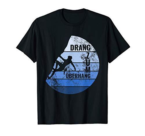 Vintage Retro Kletterer Bouldern Klettern Berge Geschenk T-Shirt