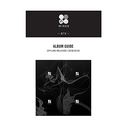 BANGTAN BOYS 2nd KPOP BTS WINGS Vol. 2 Album [ W Version ] CD + Fotobuch + Fotokarte + Geschenk (4 Fotokarte Set)